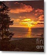 Pacific Sunset Metal Print by Robert Bales