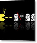 Pacman Star Wars - 1 Metal Print by NicoWriter