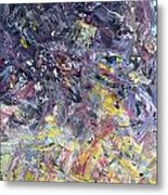 Paint Number 55 Metal Print by James W Johnson
