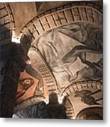 Painted Vaults Metal Print by Lynn Palmer