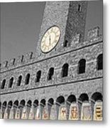 Palazzo Vecchio At Florense Metal Print by Aleksandar Hajdukovic