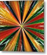 Palette Wheel Metal Print by Janet Russell