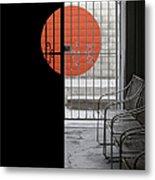 Palm Springs Shadows Metal Print by Ben and Raisa Gertsberg
