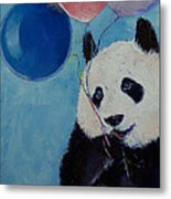 Panda Party Metal Print by Michael Creese