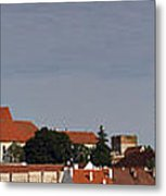 panorama - Mikulov castle Metal Print by Michal Boubin