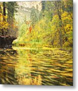 Parade Of Autumn Metal Print by Peter Coskun