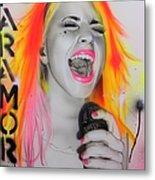 'paramore' Metal Print by Christian Chapman