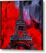 Paris Metal Print by Christine Mayfield