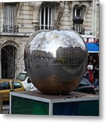 Paris France - Street Scenes - 0113133 Metal Print by DC Photographer
