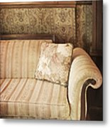 Parlor Seat Metal Print by Margie Hurwich
