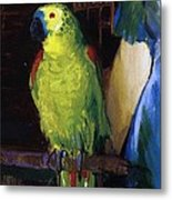 Parrot Metal Print by George Wesley Bellows
