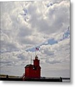 Partly Cloudy Metal Print by Michelle Calkins