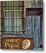Past Vices Metal Print by Wendy J St Christopher