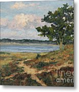 Path To The Harbor Metal Print by Gregory Arnett
