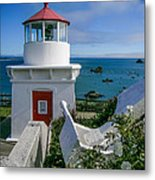 Patrick's Point Lighthouse Metal Print by Jim DeLillo