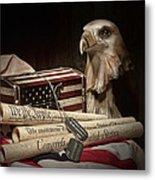 Patriotism Metal Print by Tom Mc Nemar