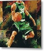 Paul Pierce Metal Print by Christiaan Bekker