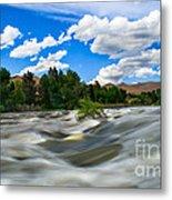 Payette River Metal Print by Robert Bales
