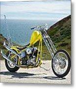 Pch Chopper Metal Print by Dave Koontz