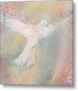 Peace Dove Metal Print by Anne Cameron Cutri