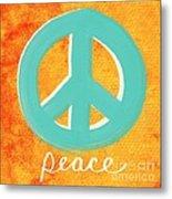 Peace Metal Print by Linda Woods