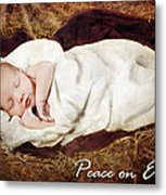 Peace On Earth Metal Print by Cindy Singleton