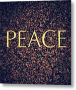 Peace Metal Print by Tim Gainey