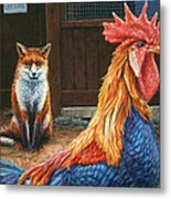 Peaceful Coexistence Metal Print by James W Johnson