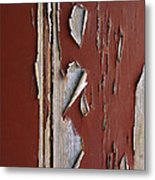 Peeling Paint Metal Print by Carlos Caetano