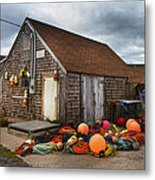 Peggy's Cove 15 Metal Print by Betsy Knapp