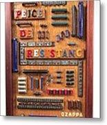 Peice De Resistanc Metal Print by Bill Czappa