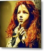 Pensive Mannequin Metal Print by Halifax Photography John Malone