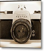 Pentax Spotmatic IIa Camera Metal Print by Mike McGlothlen
