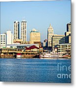 Peoria Skyline And Downtown City Buildings Metal Print by Paul Velgos
