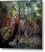 Pepper Creek Palm Metal Print by Sheri McLeroy