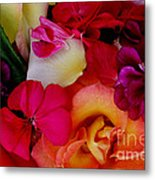 Petal River Metal Print by Jeanette French
