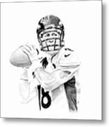 Peyton Manning Metal Print by Don Medina
