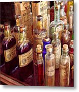Pharmacy - The Selection  Metal Print by Mike Savad