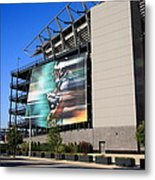 Philadelphia Eagles - Lincoln Financial Field Metal Print by Frank Romeo