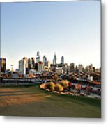 Philadelphia From South Street Metal Print by Bill Cannon
