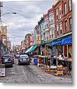 Philadelphia Italian Market 2 Metal Print by Jack Paolini
