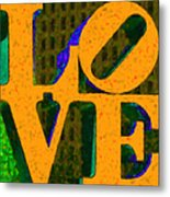 Philadelphia Love - Painterly V4 Metal Print by Wingsdomain Art and Photography