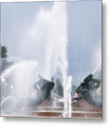 Philadelphia - Swann Memorial Fountain Metal Print by Bill Cannon