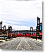 Phillies Stadium - Citizens Bank Park Metal Print by Bill Cannon