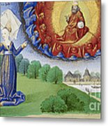Philosophy Instructs Boethius On God Metal Print by Getty Research Institute
