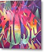 Phish The Mother Ship Metal Print by Joshua Morton