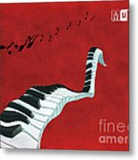 Piano Fun - S01at01 Metal Print by Variance Collections