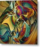 Picked Up By The Wind Metal Print by Klara Acel