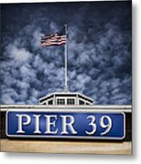 Pier 39 Metal Print by Dave Bowman