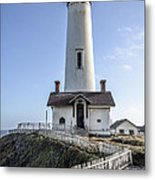 Pigeon Point Lighthouse Metal Print by Amy Fearn